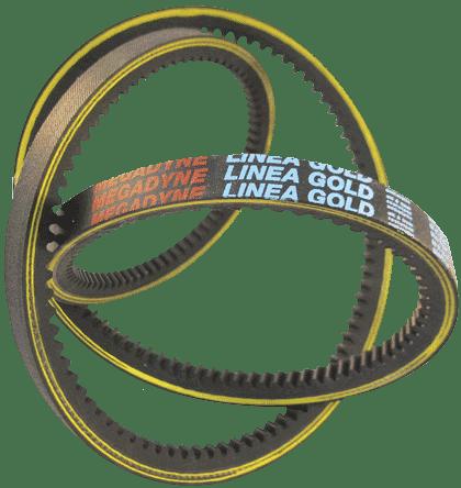 Curea trapezoidala Megadyne linea-x, gold label, trapezoidala dintata